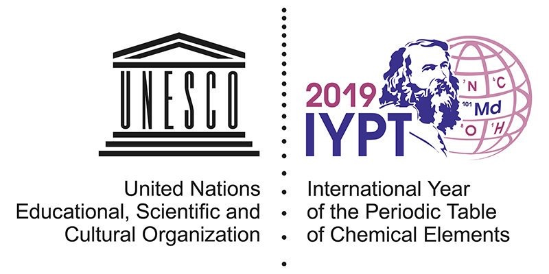 UNESCO and IUPAC proclaim the International Year of the Periodic Table of the Elements #IYPT2019