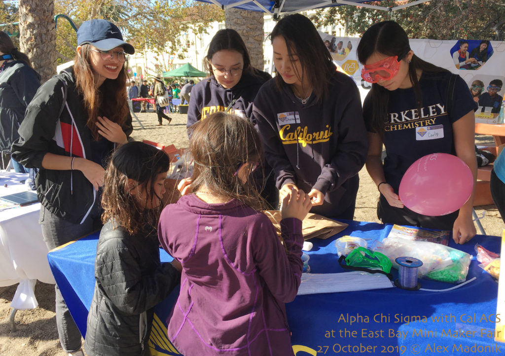The UC Berkeley Alpha Chi Sigma team